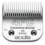 ANDIS Ceramic Scherkopf  9,5 mm fein  Größe 4F