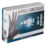 Allzweckhandschuh Nitrile Long Black Gr. L